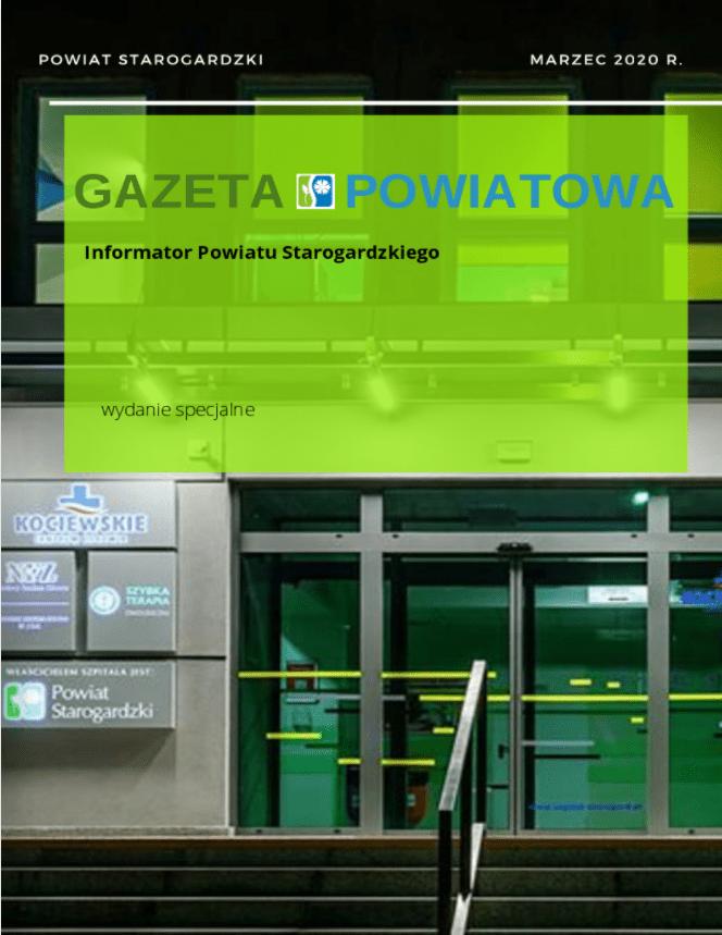 Gazeta powiatowa - informator Powiatu starogardzkiego