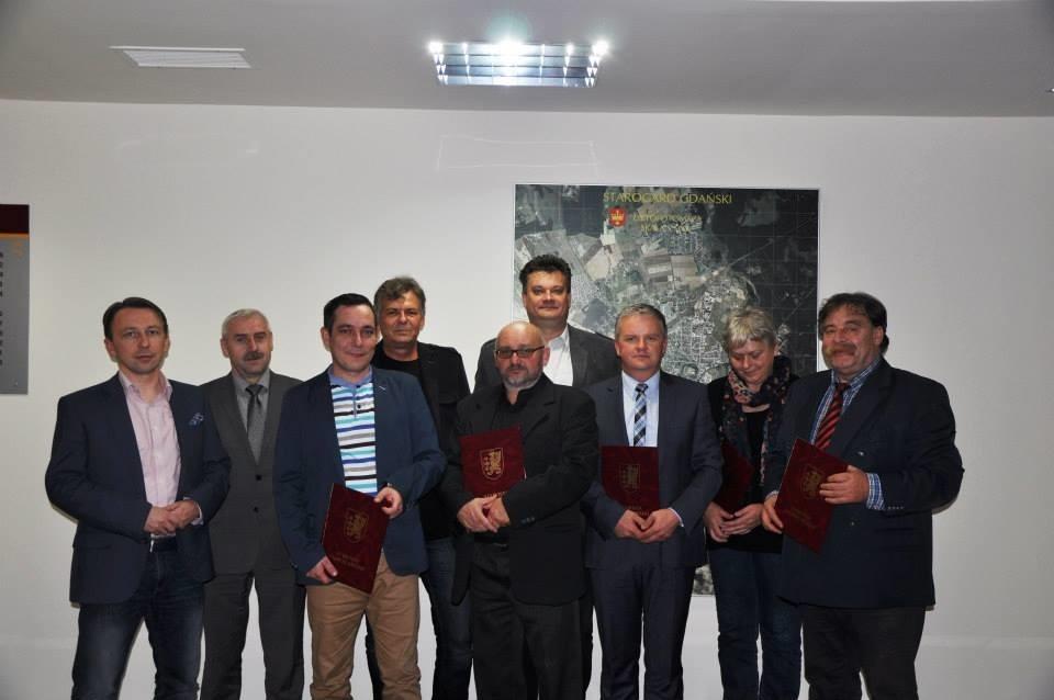 Zdjęcie grupowe członków rady